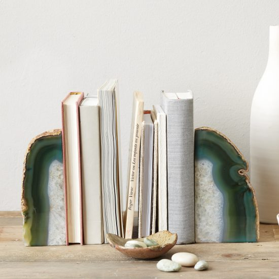 West Elm Agate Bookend