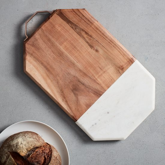 West Elm Marble+Wood Cutting Board