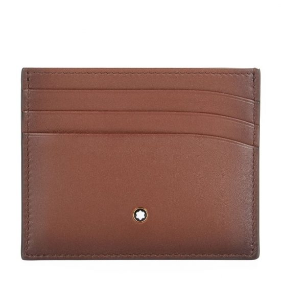Harrods Montblanc Classic Burnished Leather Card Holder