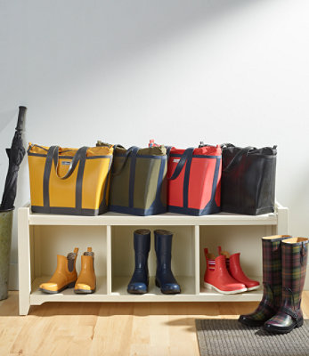 LL Bean Wellie Boat and Tote