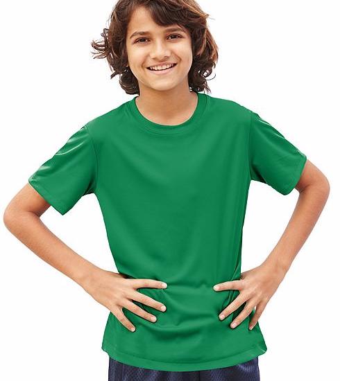 HanesCoolDriYouthTshirt