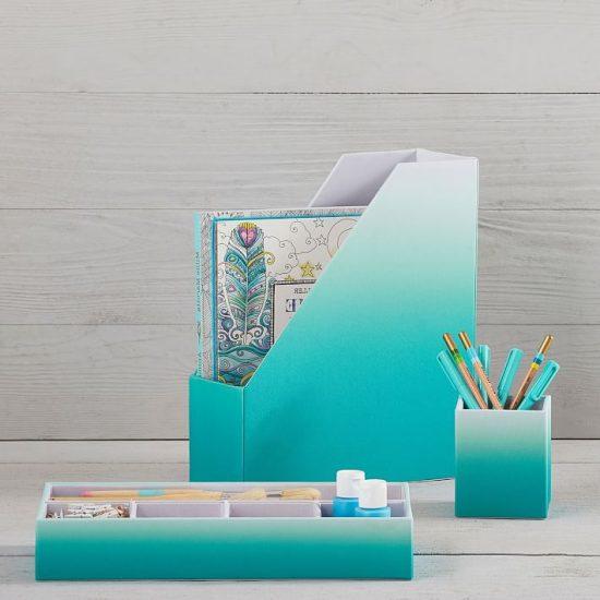 PB Teen fabric-desk-accessories-pool-ombre-o