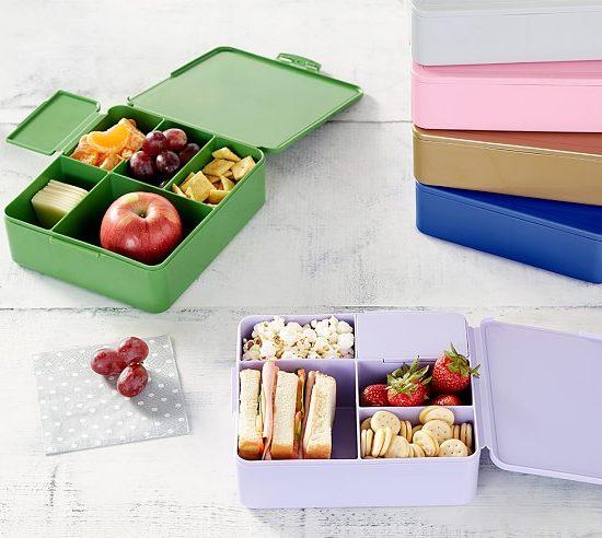 Pottery Barn Kidsspencer-stainless-rectangle-bento-box-c